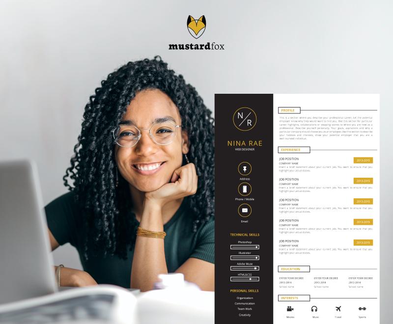 CV Design – Web Designer